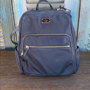 Kate Spade Hilo Blake Avenue black nylon backpack